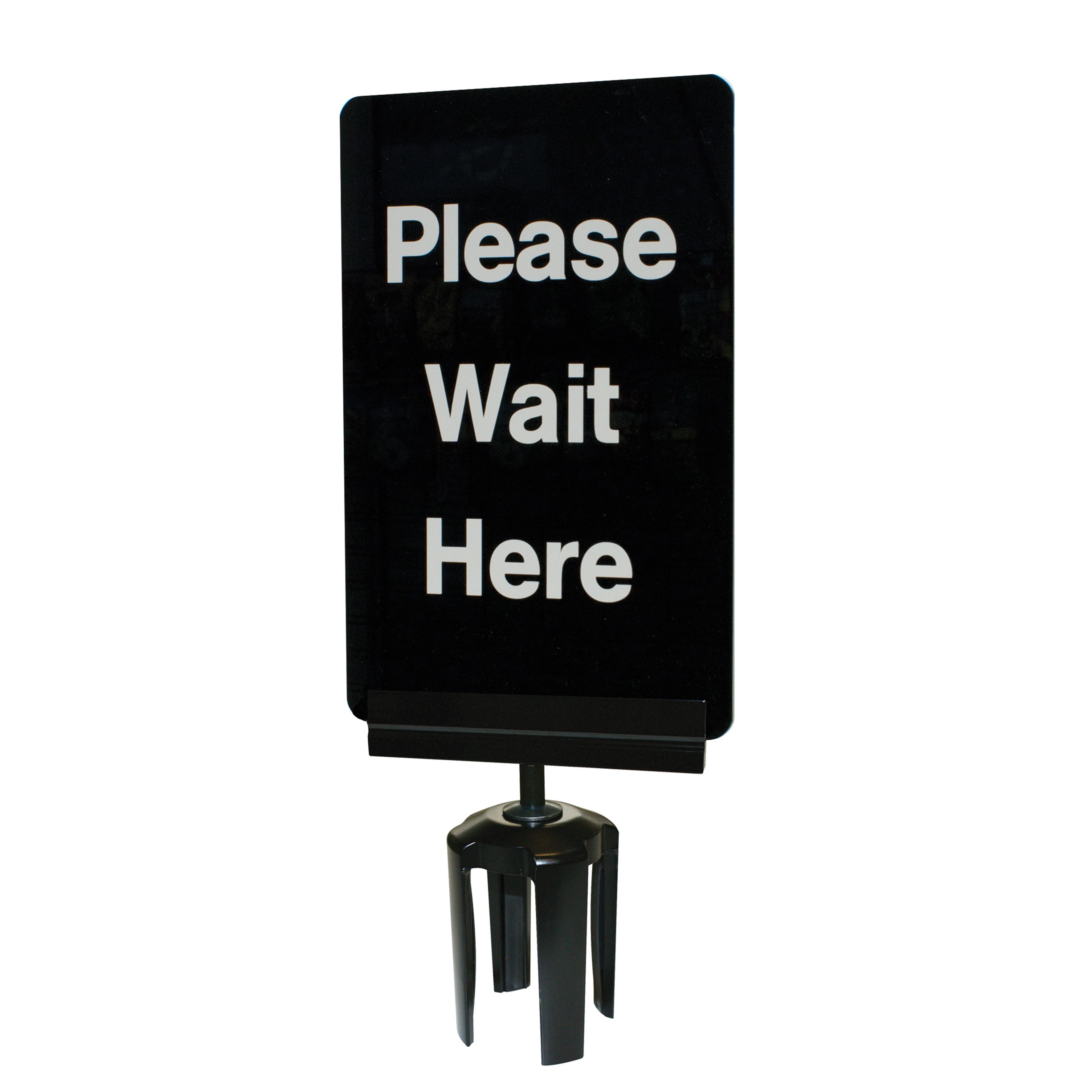 acrylic stanchion signage for tensabarrier  u2013 tensabarrier